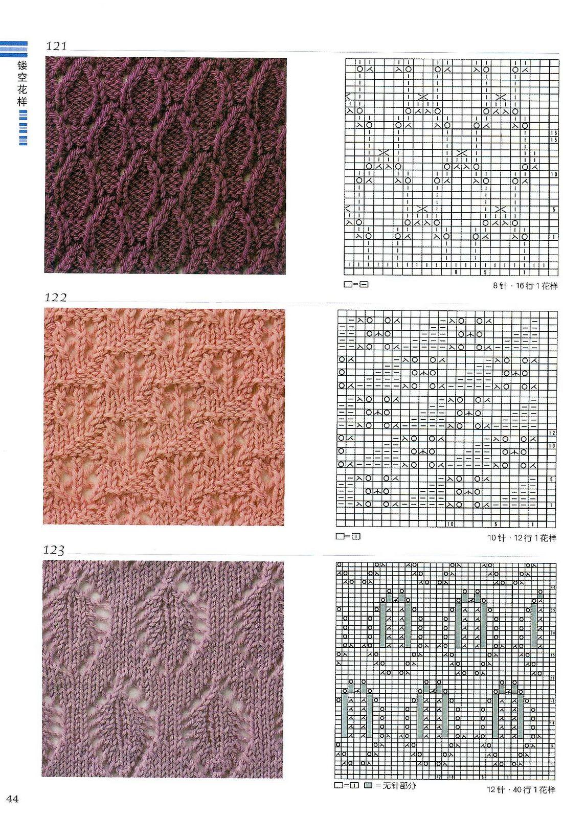 Драйвера. рисунки для вязания спицами и описания.